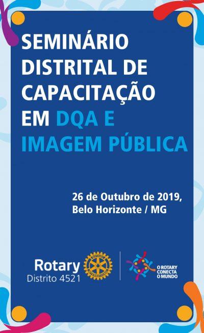 Seminário Distrital de Desenvolvimento do Quadro Associativo e Imagem Pública
