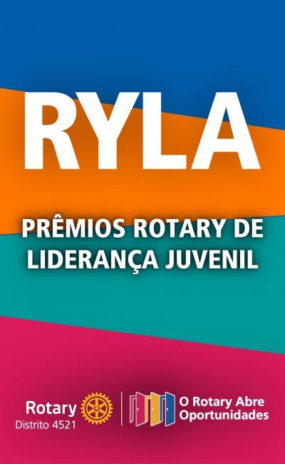 RYLA 2021 – Prêmios Rotary de Liderança Juvenil