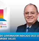 Conferência 2020-21 – Mensagem do Governador Indicado 2022-23, Aurelio Henrique Salles